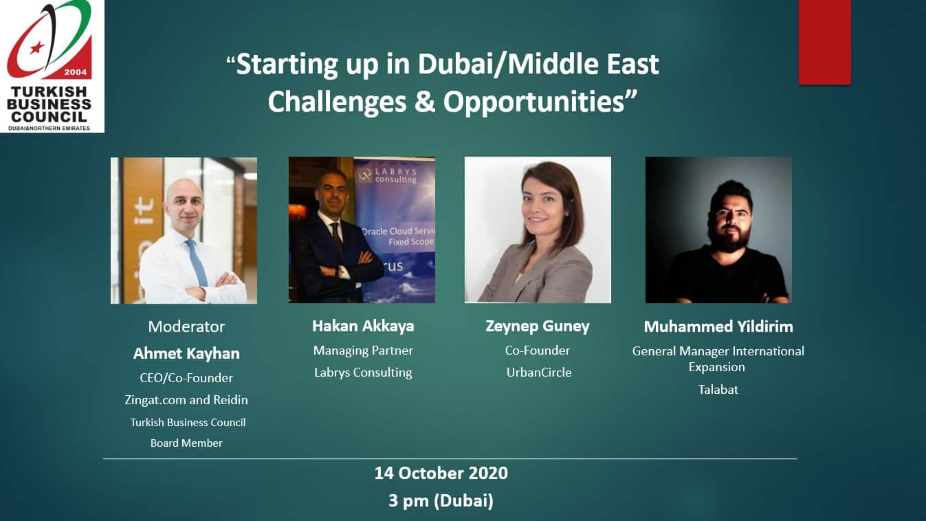 Starting up in Dubai/Middle East - Challenges & Opportunities