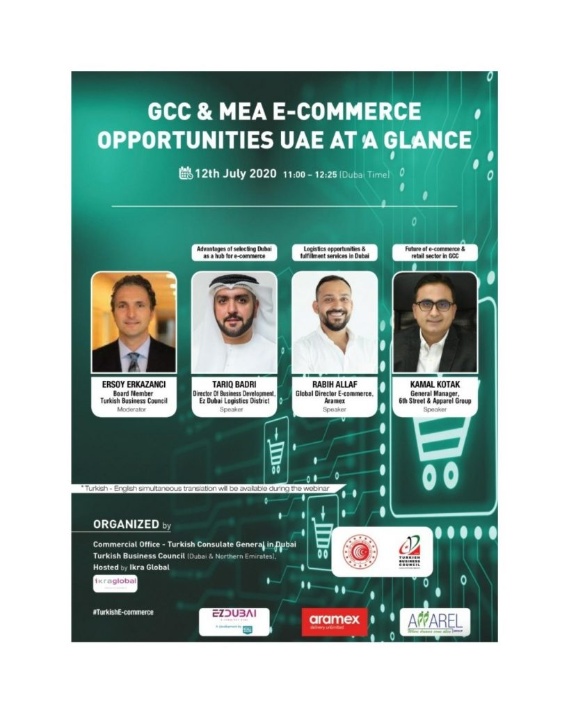 GCC E-commerce Market & Logistics Opportunities Webinar