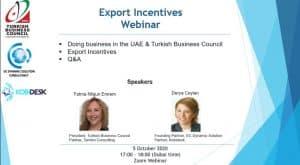 Export Incentives Webinar with Kobidesk