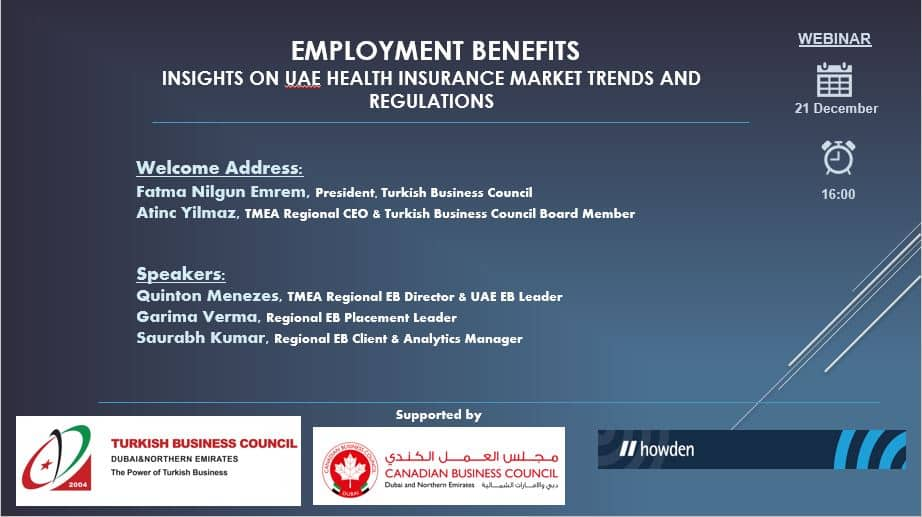 Employment Benefits, Insights on UAE Health Insurance Market Trends and Regulations