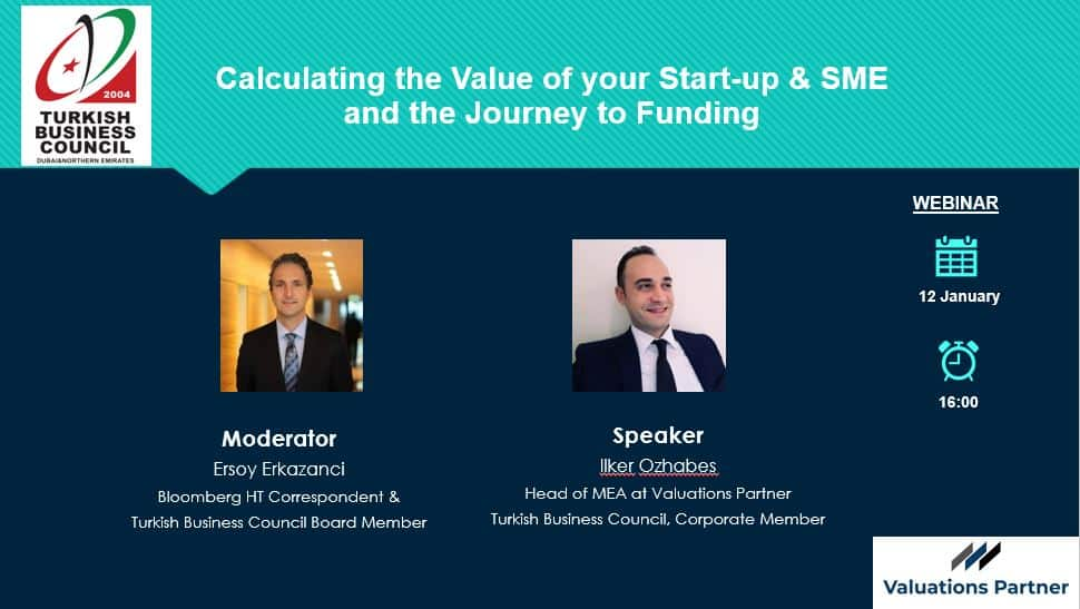 Calculating the Value of your Start-up & SME and the Journey to Funding