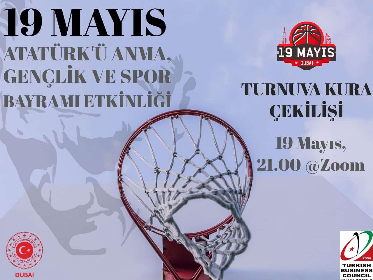19 Mayıs Atatürk'ü Anma, Gençlik ve Spor Bayramı Etkinliği