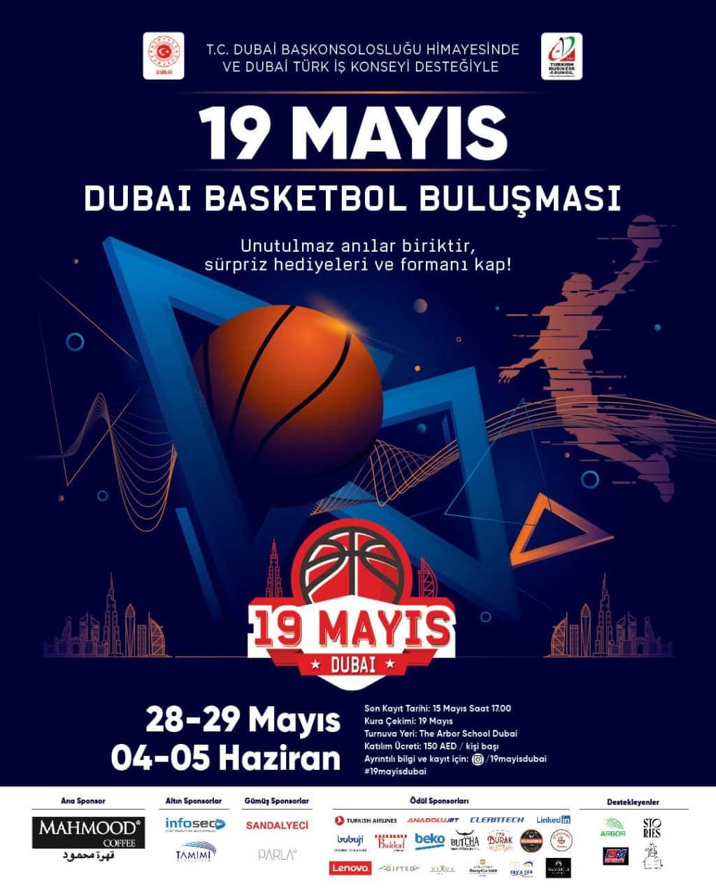 19 Mayıs Dubai Basketbol Buluşması