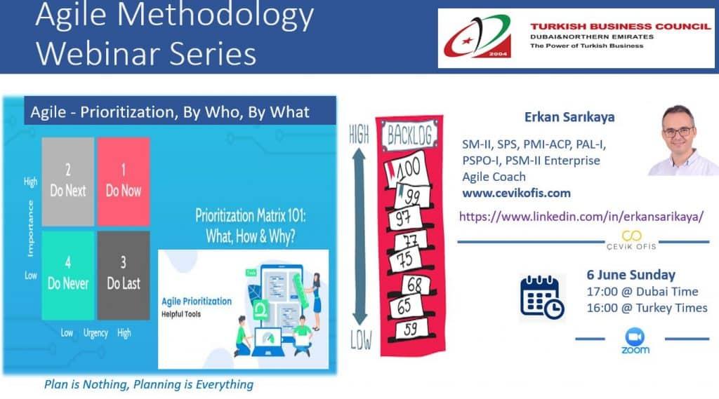 Agile Methodology Webinar Series